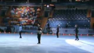 plushenko lambiel joubert johnny weir - can