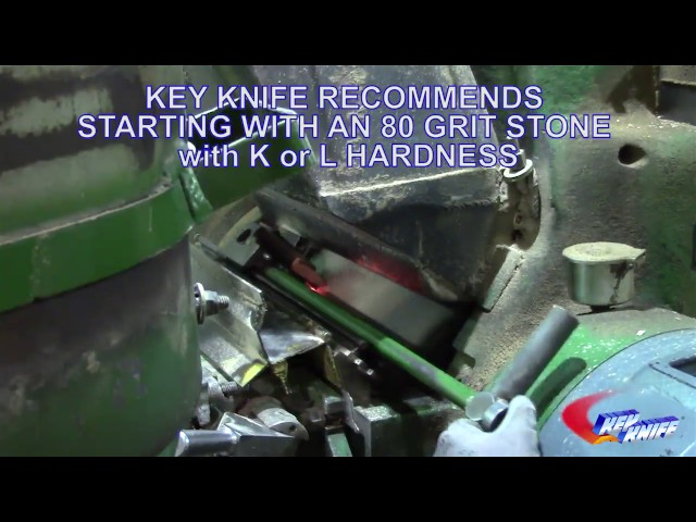 Key Planer Head Knife Change and Jointing thumbnail