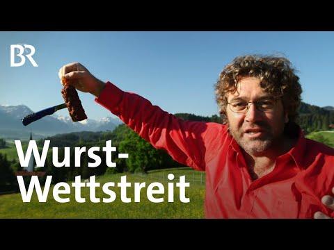 Schwaben im Wurst-Wettstreit: Auf der Jagd im Allgäu | Zwischen Spessart und Karwendel | BR