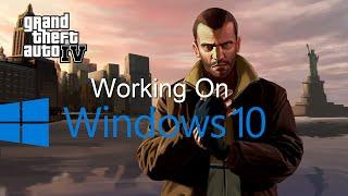 How to fix GTA IV on windows 10/8.1 (2016)