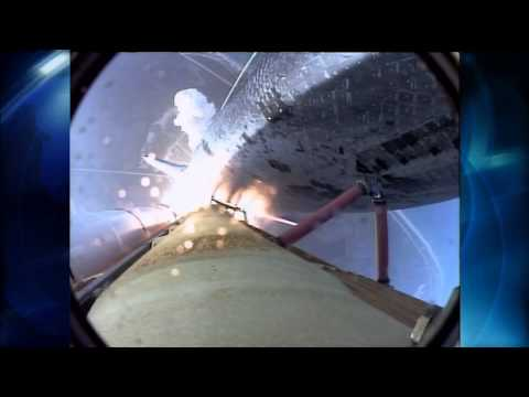 STS-118 space shuttle launch with Barbara Morgan