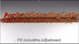 Adjusting the Ponsness/Warren Autodrive on a Dillon 1050 Super