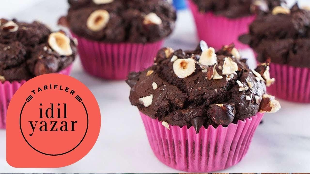 Çikolata Kremalı Sürpriz Cupcake