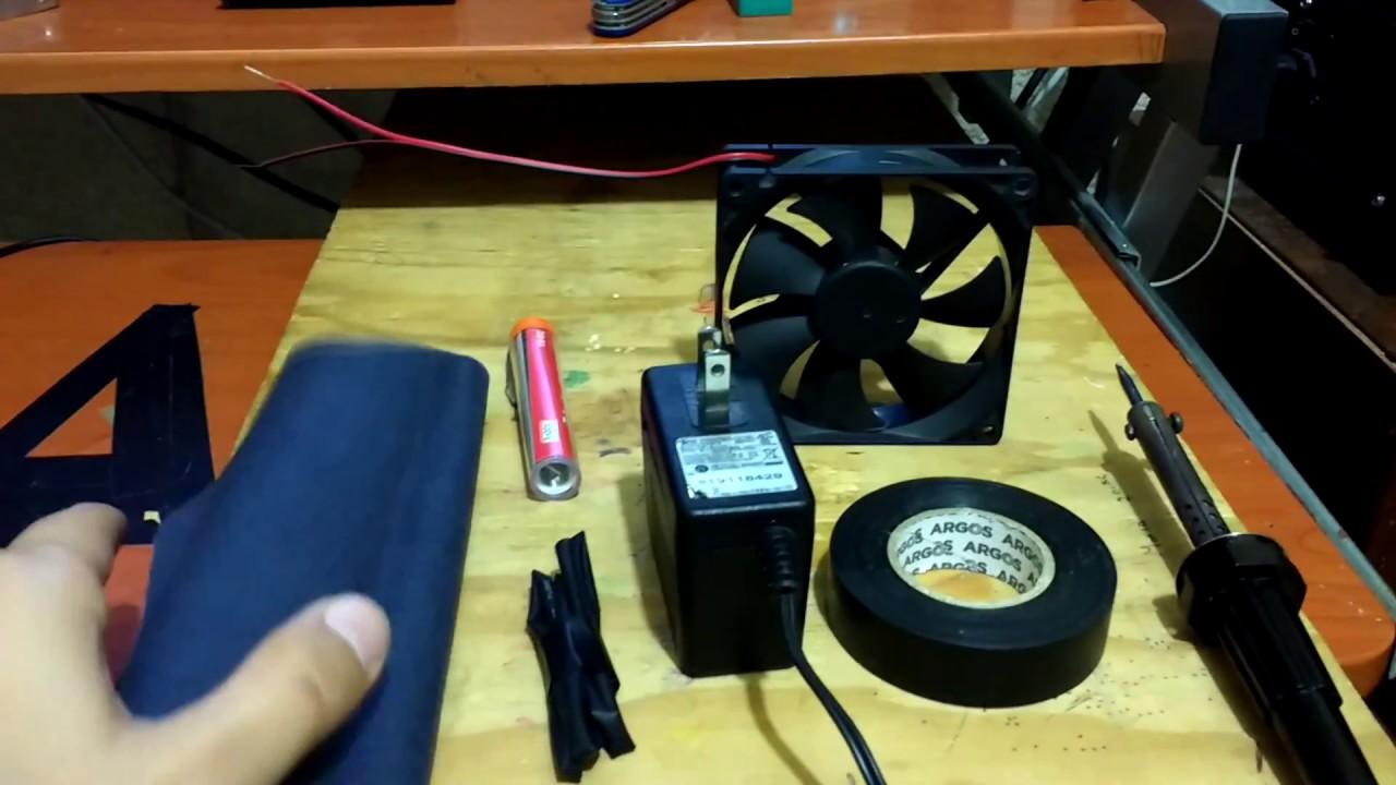 Extractor De Humo Casero Youtube