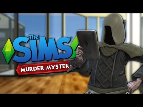 PENTHOUSE MURDER MYSTERY - The Sims 4 Funny Highlights #98
