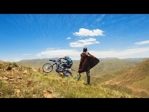Hard Enduro Action Mountains of Lesotho Roof of Africa Day 1