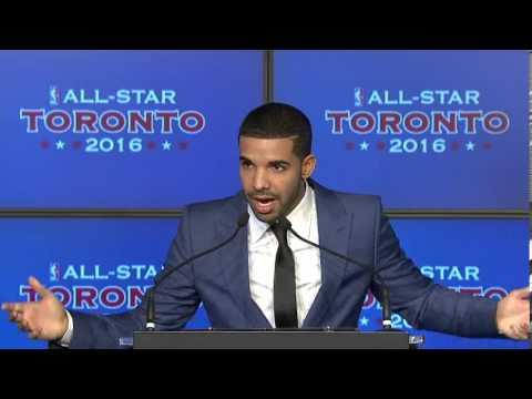NBA All-Star Announcement: Drake