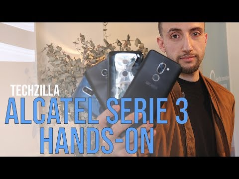 Alcatel Serie 3 Hands-On: display Fullview fino a 199 Euro - MWC 2018