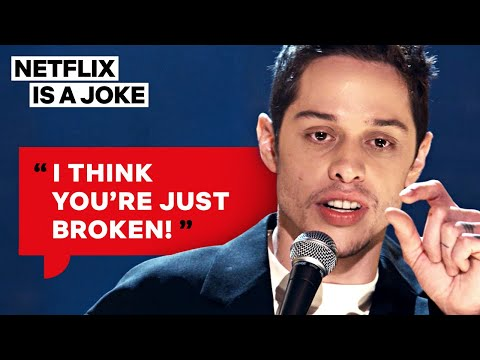 Pete Davidson Has Some Interesting Thoughts About Sex | Netflix Is A Joke