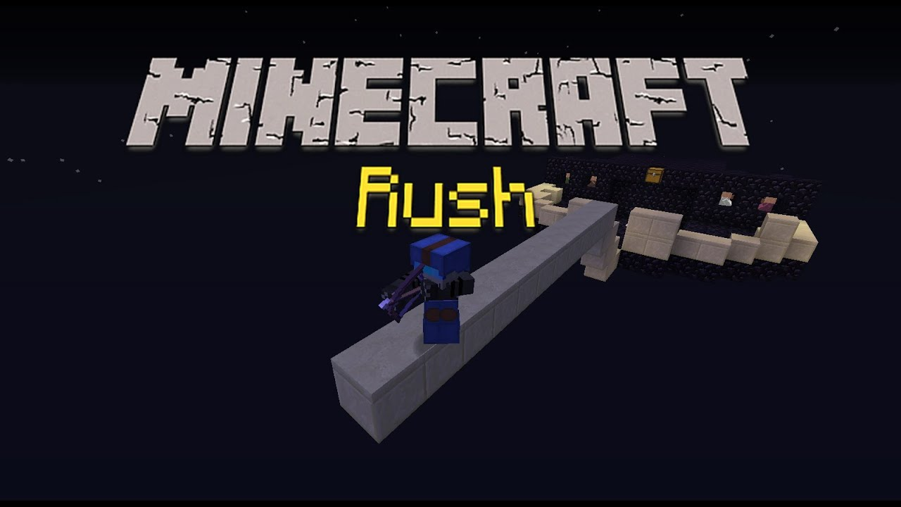 minecraft rush mini game cracked server 1 9 24 7 youtube