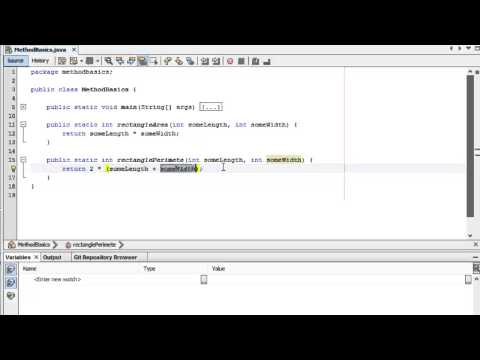 Learn Programming in Java - Lesson 05 : Methods / Functions