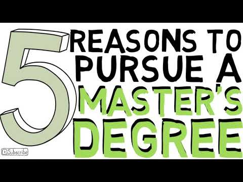 5 Reasons to Pursue a Master's Degree | Is a Master's Degree Worth it?