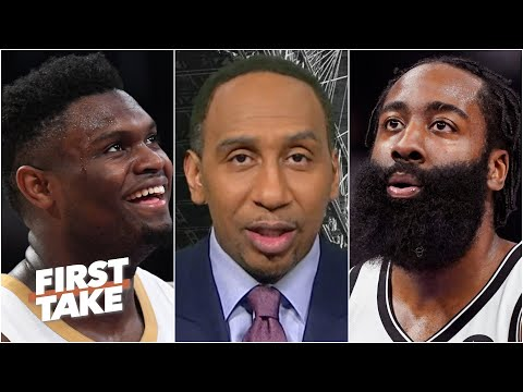 Zion or Harden: Who had the more impressive night? | First Take