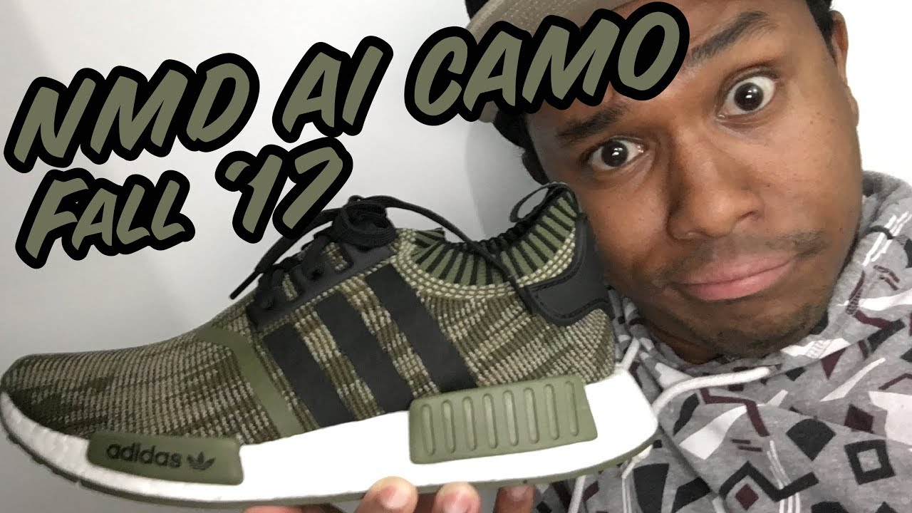 Adidas NMD R1 Duck Camo Pack Release Cop These Kicks