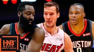 Houston Rockets vs Miami Heat - Full Game Highlights | October 18, 2019 NBA Preseason