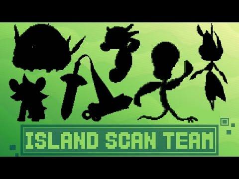 FULL POKEMON ISLAND SCAN TEAM! (QR CODE)