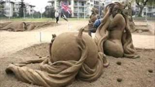 Escultura na areia  Ricardo