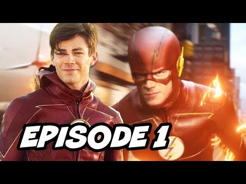 The Flash Season 4 Episode 1 - TOP 10 WTF and Comics Easter Eggs