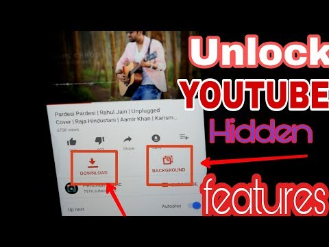 UNLOCK YOUTUBE HIDDEN FEATURES | How To YouTube Red For Free Forever