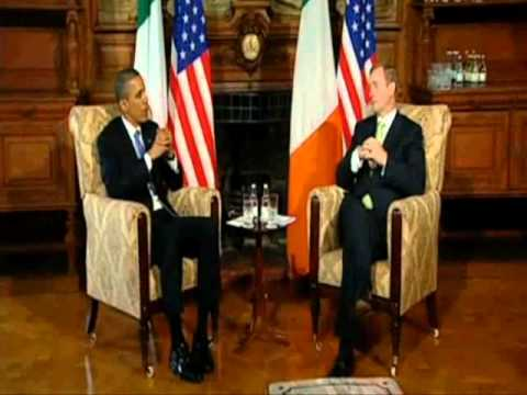 President Obama meets with Taoiseach Enda Kenny