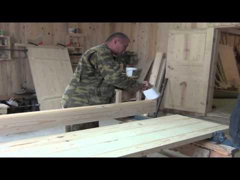 Своими руками изготовим деревянные двери