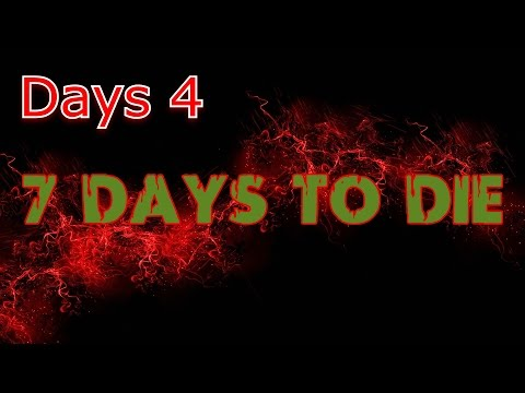 7 days to die ps4 lets play day 4, fly or die