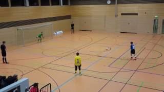 U12 Jhg2005 SV Darmstadt 98 - TSG 1899 Hoffenheim 4:3n9m; HALBFINALE Hallencup Köln 14.01.17