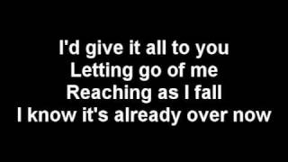 RED - Already Over [with lyrics]