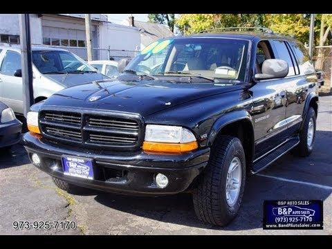 2000 Dodge Durango Slt Magnum V8 4x4 Youtube