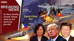 Breaking News: US Navy warship transits Taiwan Strait as PLA starts live-fire drills