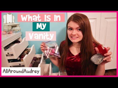 What's In My VANITY DRAWERS?! / AllAroundAudrey