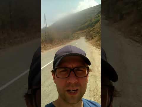 Автостоп по Армении: город Каджаран (Քաջարան) и выезд на иранскую границу