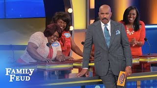 I may be DEAD, but my tastebuds are ALIVE and KICKING!!! | Family Feud