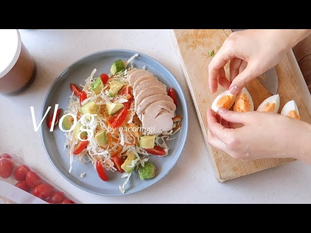 Vlog.06 | 雪とスープとサラダの日
