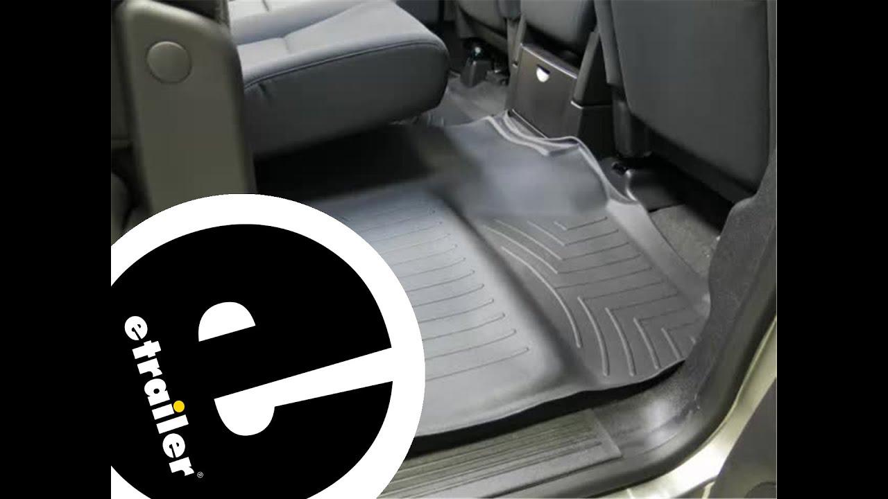Floor mats silverado 2015 - Review Of The Weathertech Rear Floor Liner On A 2014 Chevrolet Silverado Etrailer Com