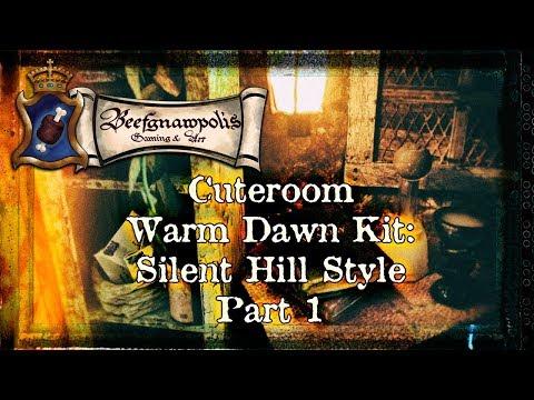 Cuteroom Warm Dawn DIY Dollhouse Kit: Silent Hill Style: Pt. 1