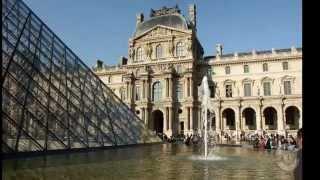 видео Лувр. Достопримечательности. Париж