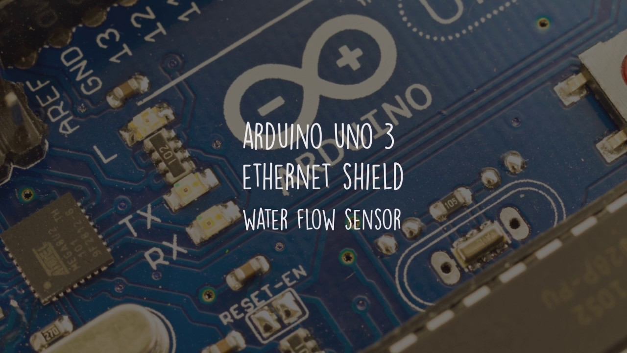 Arduino Water Flow With Ethertnet Shield + Web Sever