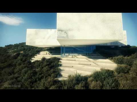 New Tamayo Museum overlooking Mexico City