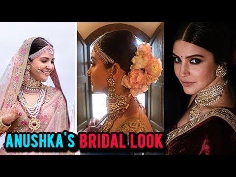 Anushka Sharma WEDDING LEHENGA COST,  Jewellery Work Revealed!