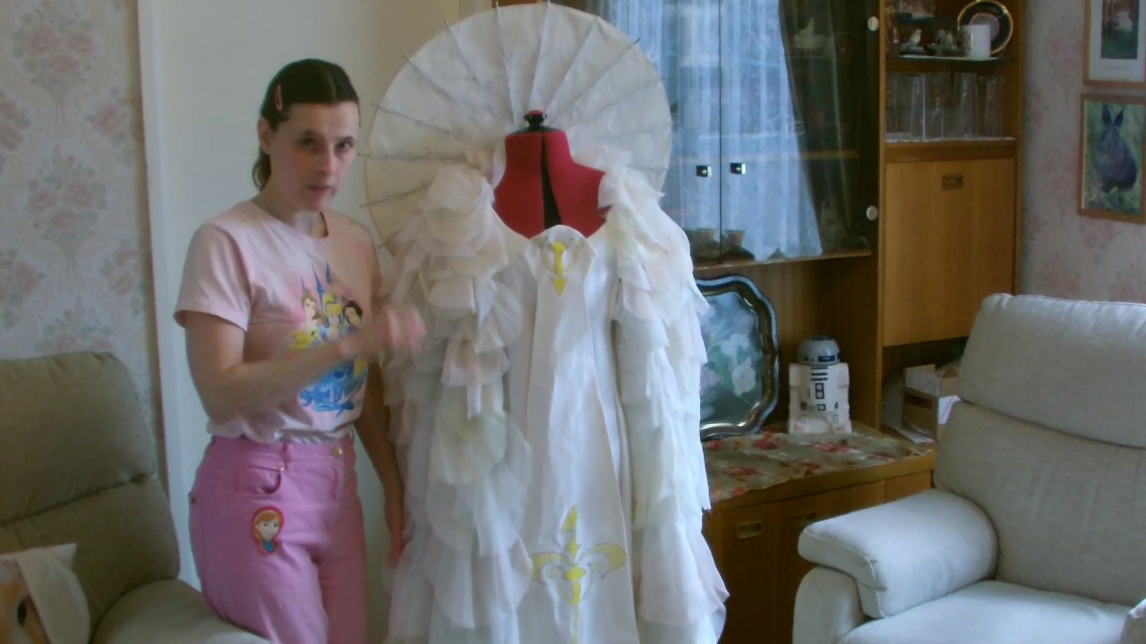 For Sale My Padme Amidala Star Wars Parade Gown - YouTube