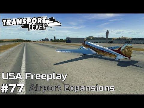 Airport Expansions [2059] - Transport Fever [USA Freeplay] [ep77]