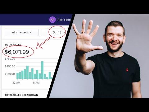 Fastest Way To Make $6071 Per Day | Shopify Dropshipping thumbnail