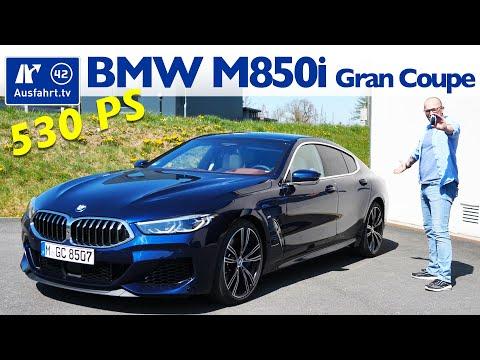 2020 BMW M850i XDrive Gran Coupe (G16) - Kaufberatung, Test Deutsch, Review, Fahrbericht Ausfahrt.tv