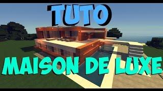 TUTO MAISON DE LUXE/MODERNE SUR MINECRAFT !!! #1