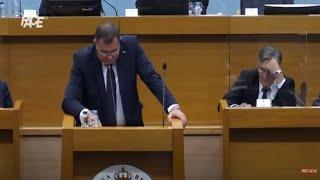 Dodik nije dobio podršku većine u NSRS-u, sjednica se pretvorila u svojevrsni cirkus!