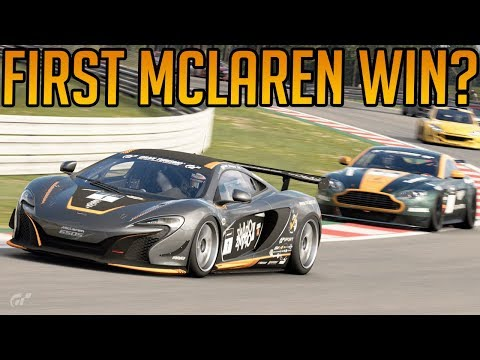 Gran Turismo Sport: First Win for Mclaren? thumbnail