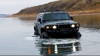 Toyota FJ Cruiser, Jeep Wrangler, Nissan Pathfinder, Hyundai Galloper, off road, 4х4, бездорожье,