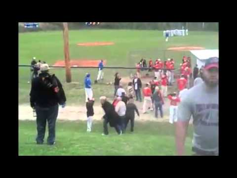 Punches thrown at high school baseball game