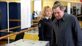 Выборы мэра города Новосибирска. В. Городецкий.